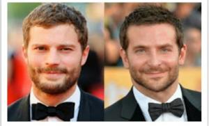 Jamie Dornan and Bradley Cooper