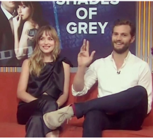Dakota Johnson and Jamie Dornan on The Today Show